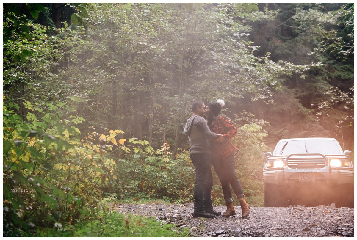 OffRoading Engagement Photos Chilliwack