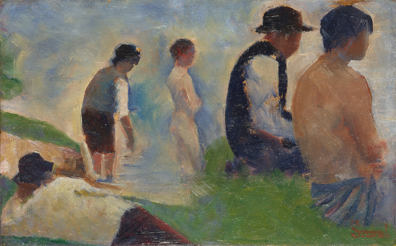 Study for 'Bathers at Asnières'