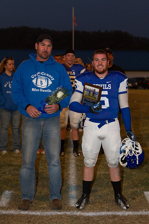 UCHS Senior Night Fall 2012
