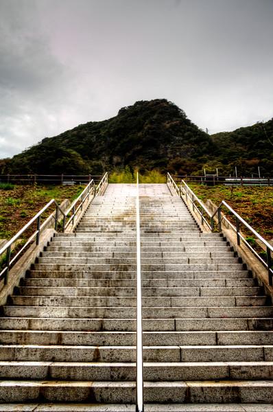 Stairs to Nihon-ji