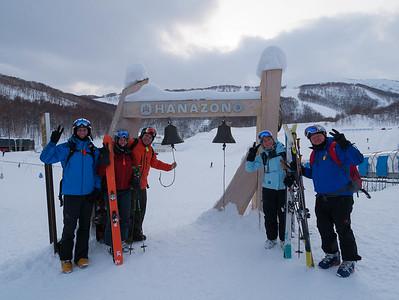 Japan, Hokkaido Skiing and Snowboarding January 2015