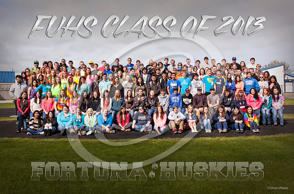 FUHS Senior Group Photo 2013