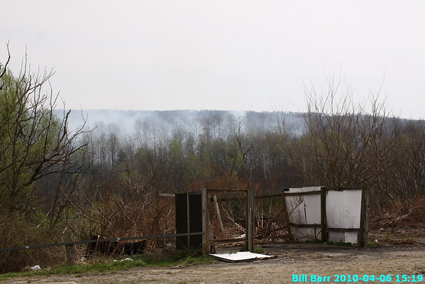 Wildfire, Newport Twp, 4/6/10
