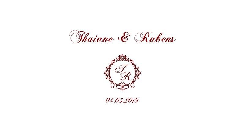 Thaiane & Rubens 04.05.2019