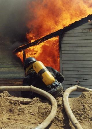 April 1997 Training Burn