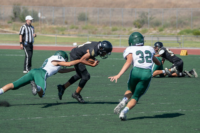 2019-08-29 Poway Titans Vs Olympian Eagles JV Football