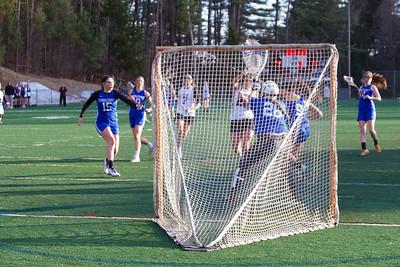 Hanover Girls Lacrosse vs Winnacunnet