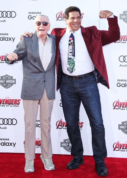 Stan Lee, Lou Ferrigno