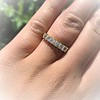 1.17ctw French Cut Diamond 7-Stone Band 8