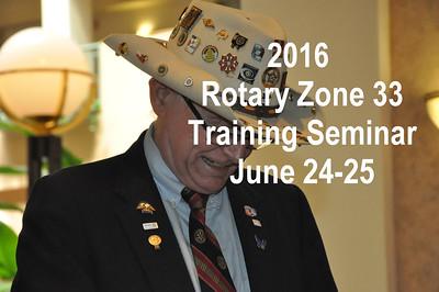 2016 Zone 33 Training Seminar