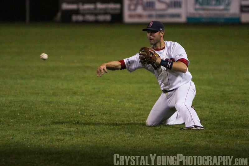 Barrie Baycats at Brantford Red Sox IBL Playoffs, Semifinals Game 4 August 16, 2014