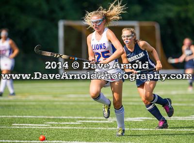 9/6/2014 - Varsity Field Hockey - Brookline vs Newton South