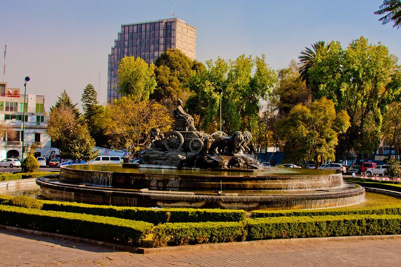 Fuente de Cibeles in Mexico City