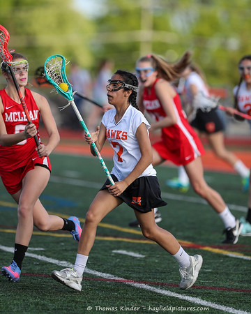 Girls JV Lacrosse vs McLean 4/26/17
