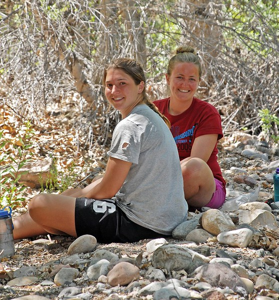 Megan and Jessica at Coon Creek