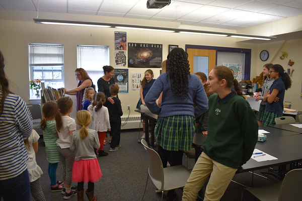 Kindergarten Visits Middle School Spoken Word