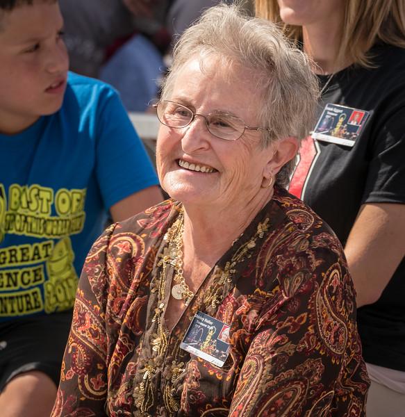 Recognition for Shirley Haller, longtime Fair Treasurer and volunteer