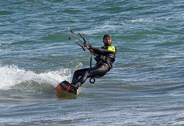 Kiteboarding: Corona del Mar & Belmont Shores