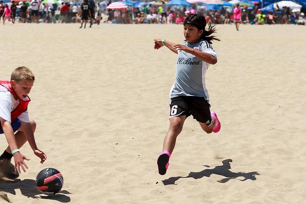 Sand Soccer vs Chelsea