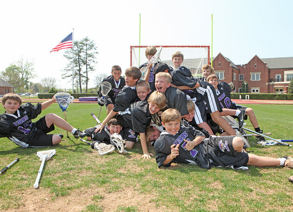 Darlington Tigers LAX youngsters 2011