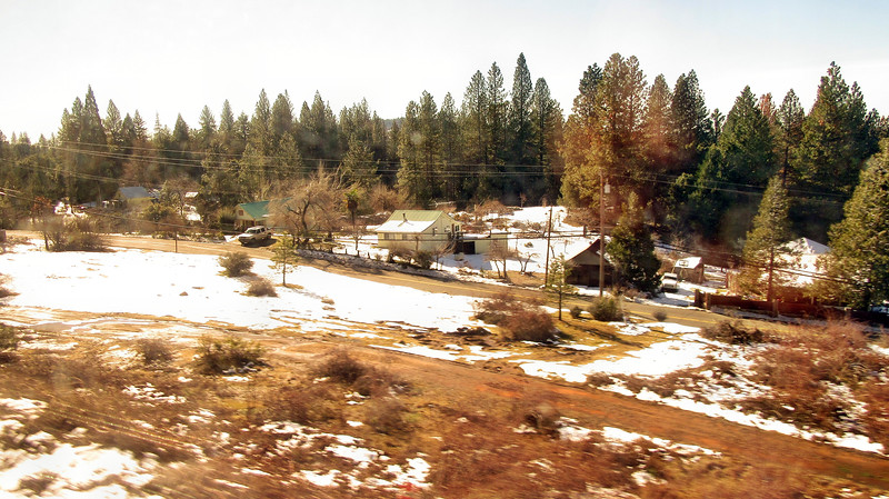 Amtrak's California Zephyr in California