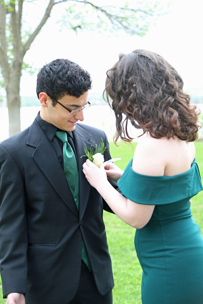 Alex and Elsie - 2019 Homecoming