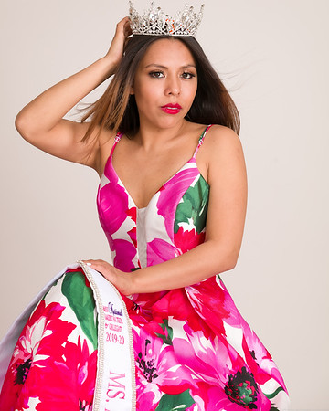 Floral Gown Seated