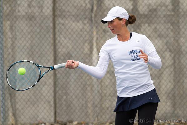 2012-10-06 Hillsdale College Women's Tennis vs. Lake Superior State