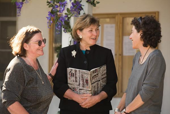 Merrie and Natalie Ceremony at City Hall with Santa Cruz Mayor Cynthia Mathews