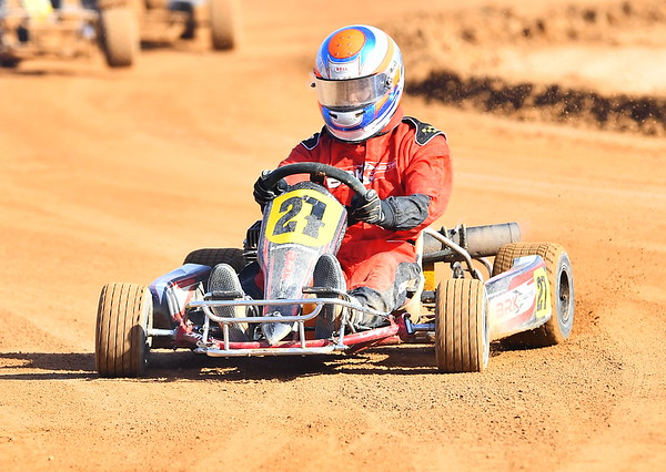 Club meet at Loxton Kart Club
