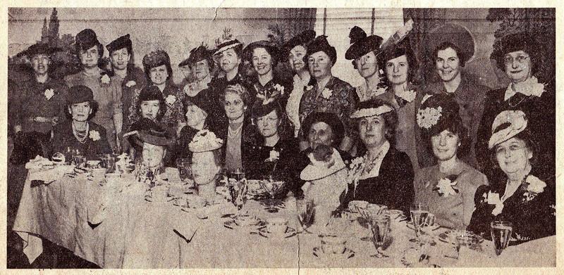 1941 VYC Women's League Luncheon