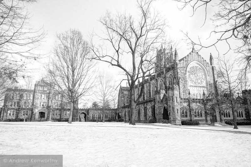 Sewanee University of the South Winter 06 BW.jpg