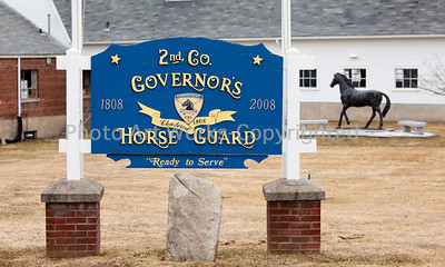 2nd Co Gov Horse Guard St Pats Parade 2014