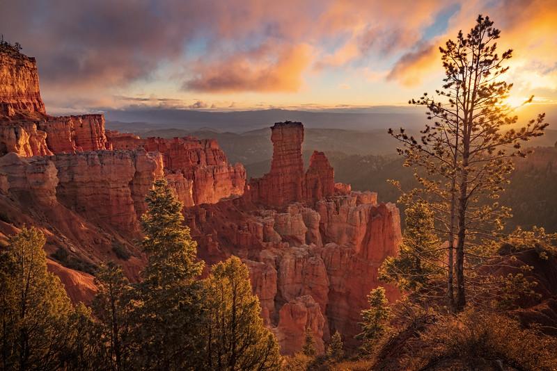 Sunrise at Agua Canyon