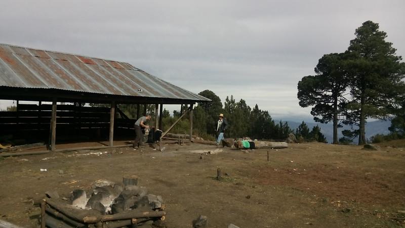 """""""Basecamp"""" auf 3700 Metern über Meer"""