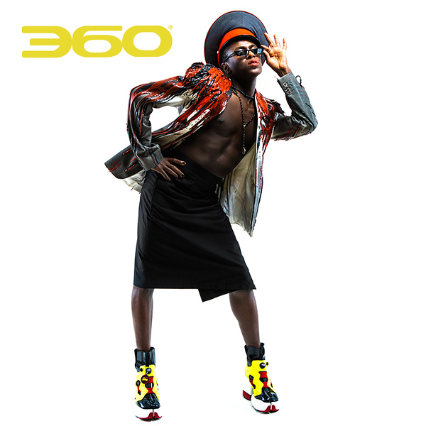 360 Pop Culture + Design, Jonte Moaning, and Brian Thomas team up for this editorial fashion shoot.