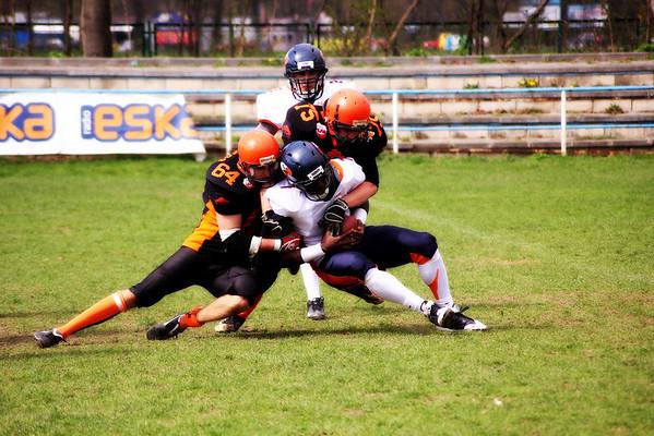Krakow Tigers vs Warsaw Eagles Cracow april 2011