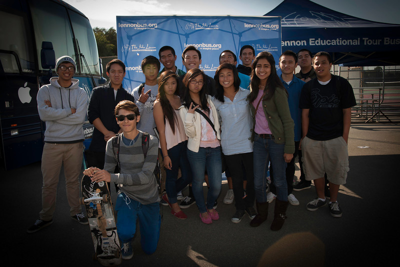 2012_10_12, Garden Grove, CA, Ranchos Alamitos High School, Student Tours, JLETB,