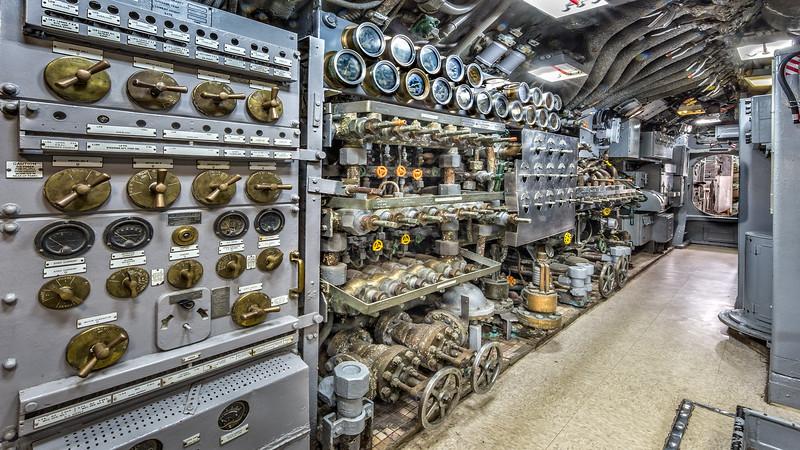 USS Cavalla SS-244) Submarine Corridor. Galveston TX