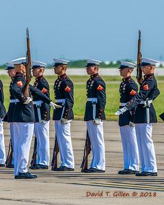 USMC Silent Drill Platoon