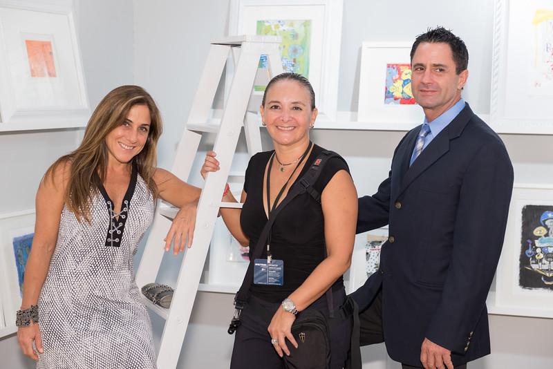 Lorena Aboado, Fran Miranda, Luis Carlos Noriega