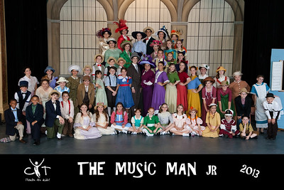 Music Man Jr. - CAST