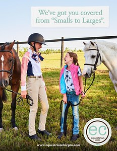 Equestrian Commercial Photoshoot at Great Lakes Equestrian Festival