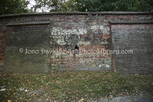 POLAND, Lublin. Old Jewish Cemetery. (9.2011)