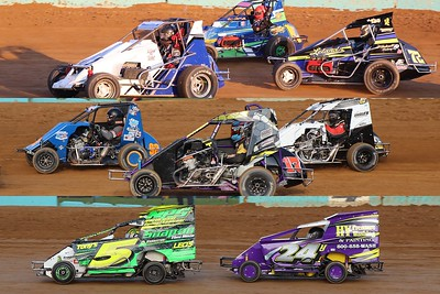 The Action Track - All Divisions from 8/16/20 (SpeedSTRs, 600cc Micro Sprints, and Slingshots)