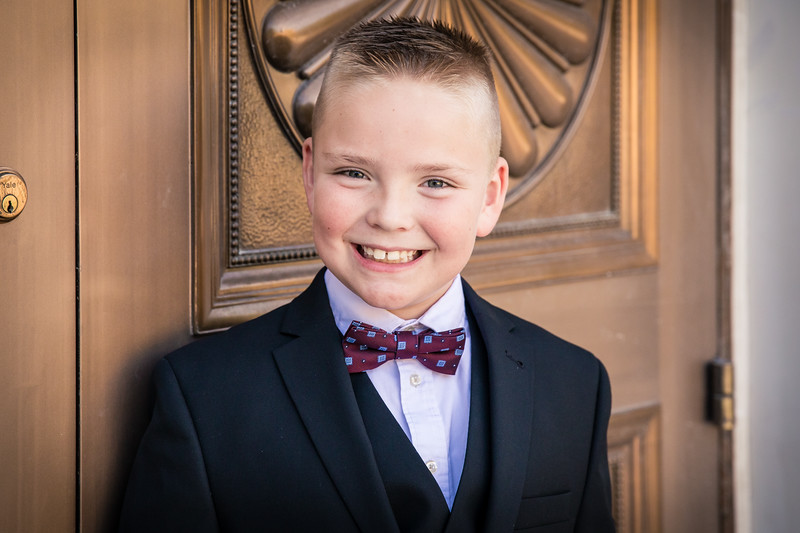 Jaxon's Baptism 2019