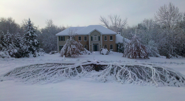 October snow storm 2011