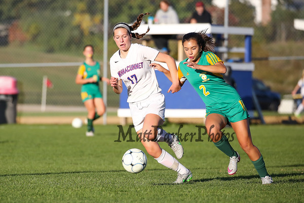 2015-10-16 WHS Girls Soccer vs Bishop Guertin