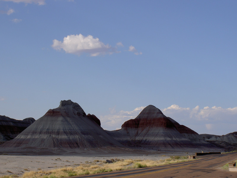 Lovely Afternoon, Painted Desert, AZ
