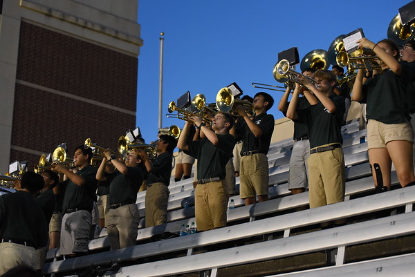 2018.08.30 - Band at Jasper-Williams Game